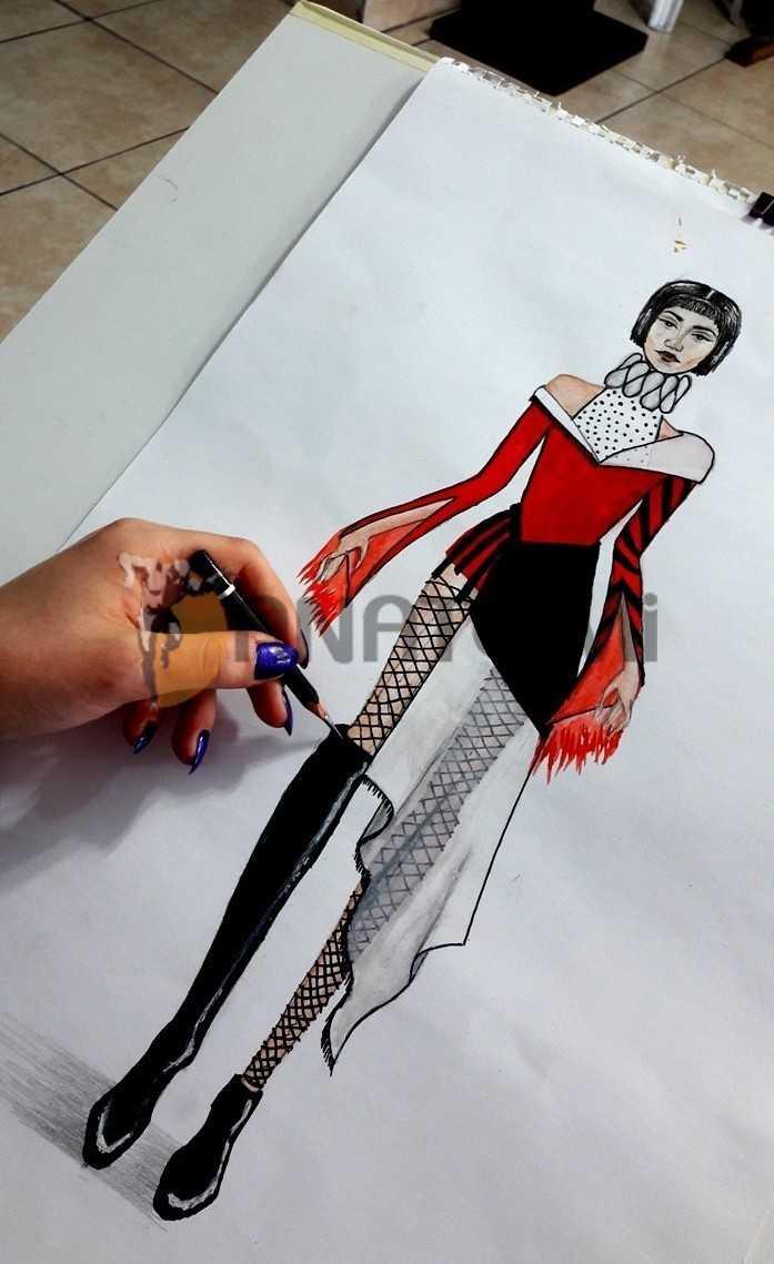 moda tasarım çizim
