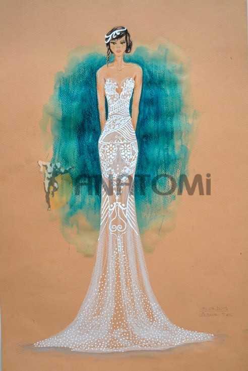 güzel sanatlar moda tasarım çalışma
