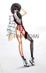 moda tasarım çizimleri